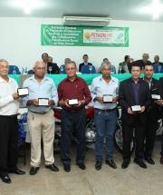 Cerimônia de homenagem aos ex-presidentes da FETAGRI-MT