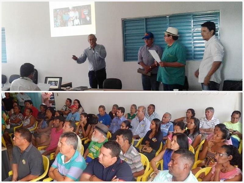Agricultores familiares de Acorizal conhecem propostas de candidatos a prefeito durante evento realizado no Sindicato dos Trabalhadores Rurais